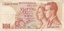 50 Franc Belgique  1966 - Belgium