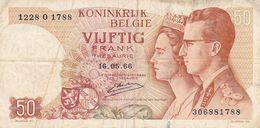50 Franc Belgique  1966 - België