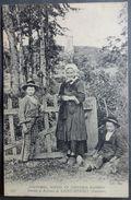 CPA 29 - CMCB 507 - RARE - Femme Et Enfants De SAINT HERBOT - Coutumes, Moeurs Et Costumes Bretons - Saint-Herbot