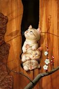 №7.6 Makoto Muramatsu Cats Modern Rare New Postcard Animals Funny Kittens - Cats