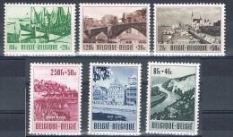 Année  1953 - COB 918** à 923** - Dont Le 920-V**  Culturel-  Cote 152,00€ - Belgique
