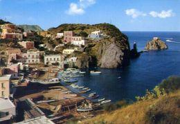 Ponza - Latina - Spiaggia S.maria - 19539 - Formato Grande Viaggiata – E 4 - Latina