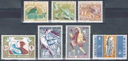 Année  1959 - COB 1114** à 1120**  - Antituberculeux. Noêl, Légendes Et Folklore Belges - Folklore III  - Cote  12,50&eu - Unused Stamps