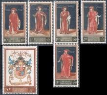 Année  1959 - COB 1102** à 1107**  - Culturelle - 400 Ans De La 1ère Bibliothèque à Bruxelles - Cote  13,50€ - Unused Stamps