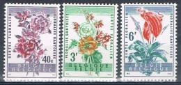 Année  1960 - COB 1122** à 1124**  - Floralies Gantoises II- Cote  2,30€ - Unused Stamps