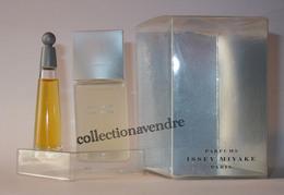 ISSEY MYAKE : L'eau D'Issey Version 1992. Duo St Valentin Homme & Femme. Parfait état - Miniatures Modernes (à Partir De 1961)