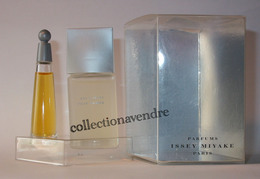 ISSEY MYAKE : L'eau D'Issey Version 1992. Duo St Valentin Homme & Femme. Parfait état - Miniaturen Damendüfte (mit Verpackung)