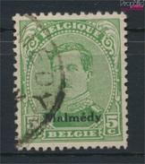 Belgische Post Malmedy 3A II, Ornament Nicht Gebrochen Gestempelt 1920 Albert I. (9120063 - Eupen & Malmedy