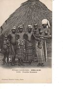 SENEGAL-GUINEE--famille Soussou--afrique Occidentale--( NUE )---voir 2 Scans - Französisch-Guinea
