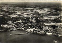LE PALAIS BELLE ILE (Morbihan) Vue Generale Aérienne Recto Verso - Belle Ile En Mer