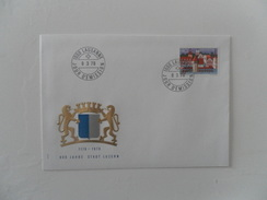 SUISSE FDC YT1047 - 800 ANS DE LA VILLE DE LUCERNE - FDC