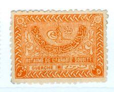 ARABIA SAUDITA, SAUDI ARABIA, RE ABDUL AZIZ, 1934, FRANCOBOLLI USATI, YT 17,  Sott 168 - Arabia Saudita