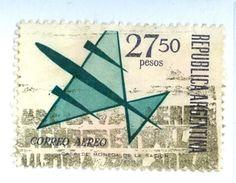ARGENTINA, POSTA AEREA, AIRMAIL, 1965, FRANCOBOLLI USATI,  Yvert Tellier PA110 ,   Scott C103 - Argentina