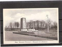 Diest   Monument Weerstand -- ( + Fr. ) - Diest