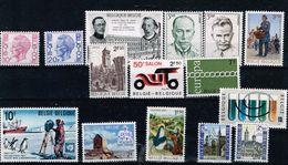 Lot Belg Selectie 1971 Postfris** - Ongebruikt