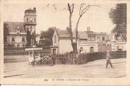 DIVES  -  L ' Entrée De L' Usine - France