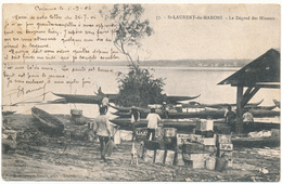 GUYANE,  ST LAURENT DU MARONI - Le Dégrad Des Mineurs - 2 Scans - Saint Laurent Du Maroni