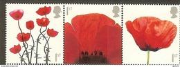 UK 2014 1st World War 100th Anniversary, Poppies Mint Set - 1952-.... (Elisabetta II)