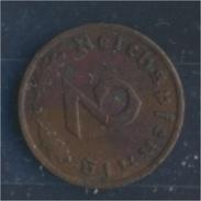 Deutsches Reich Jägernr: 362 1936 A Sehr Schön Bronze 1936 2 Reichspfennig Reichsadler (7862383 - [ 4] 1933-1945 : Third Reich