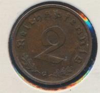 Deutsches Reich Jägernr: 362 1937 G Vorzüglich Bronze 1937 2 Reichspfennig Reichsadler (7869079 - [ 4] 1933-1945 : Third Reich