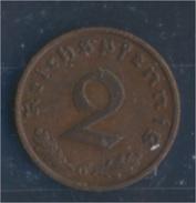 Deutsches Reich Jägernr: 362 1937 G Sehr Schön Bronze 1937 2 Reichspfennig Reichsadler (7862377 - [ 4] 1933-1945 : Third Reich