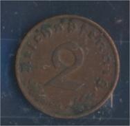Deutsches Reich Jägernr: 362 1937 G Sehr Schön Bronze 1937 2 Reichspfennig Reichsadler (7862378 - [ 4] 1933-1945 : Third Reich