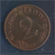 Deutsches Reich Jägernr: 362 1938 A Stgl./unzirkuliert Bronze 1938 2 Reichspfennig Reichsadler (7862397 - [ 4] 1933-1945 : Third Reich