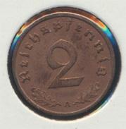 Deutsches Reich Jägernr: 362 1938 A Stgl./unzirkuliert Bronze 1938 2 Reichspfennig Reichsadler (7869078 - [ 4] 1933-1945 : Third Reich