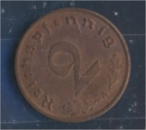 Deutsches Reich Jägernr: 362 1939 A Stgl./unzirkuliert Bronze 1939 2 Reichspfennig Reichsadler (7862395 - [ 4] 1933-1945 : Third Reich