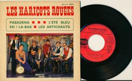 """Super 45 T, LES HARICOTS ROUGES, """"Pasadena, L'été Bleu, Eh ! La-bas, Les Artichauts"""", Ducretet, 460 V 758 - Jazz"""