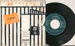 """Super 45 T, GEORGES BRASSENS, """"Le Gorille, Le Fossoyeur, Je Suis Un Voyou, Le Petit Cheval"""", Philips 432.147 NE - Sonstige - Franz. Chansons"""