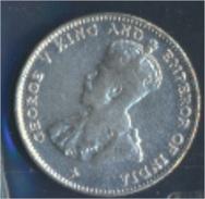 Straits Settlements KM-Nr. : 29 1918 Vorzüglich Silber 1918 10 Cents George V. (8977132 - Malaysia