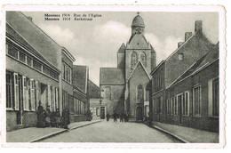 Mesen: 1914  Kerkstraat  ( 2 Scans) - Mesen