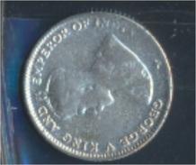 Straits Settlements KM-Nr. : 29 1918 Sehr Schön Silber 1918 10 Cents George V. (8977150 - Malaysie