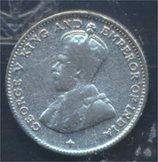 Straits Settlements KM-Nr. : 29 1919 Sehr Schön Silber 1919 10 Cents George V. (8977119 - Malaysia