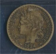 Togo 2 1924 Sehr Schön Aluminium-Bronze 1924 1 Franc Laureate (8977183 - Togo