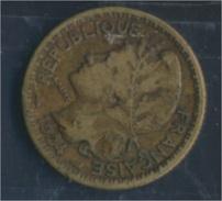 Togo 2 1924 Sehr Schön Aluminium-Bronze 1924 1 Franc Laureate (8977184 - Togo