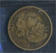 Togo 2 1924 Sehr Schön Aluminium-Bronze 1924 1 Franc Laureate (8977188 - Togo