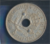 Neuguinea 5 1935 Vorzüglich Silber 1935 1 Shilling Zepter (8977170 - Papua-Neuguinea