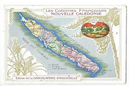 LES COLONIES FRANCAISES - NOUVELLE CALEDONIE - Chocolaterie D'Aiguebelle -   -  L 1 - Fiches Illustrées