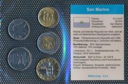 San Marino Stgl./unzirkuliert Kursmünzen Stgl./unzirkuliert 1972-2001 50 Lire Bis 1.000 Lire (9031370 - San Marino