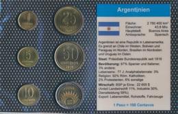Argentinien Stgl./unzirkuliert Kursmünzen Stgl./unzirkuliert 1992-2009 1 Centavo Bis 1 Peso (9031347 - Argentine