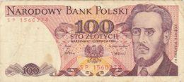 100 Zlote Pologne 1988 - Polonia