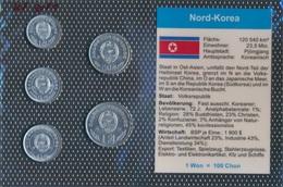 Nord-Corée Stgl./unzirkuliert Kursmünzen Stgl./unzirkuliert 2002-2008 1 Chon Jusqu'à Ce Que 1 Won (9031299 (9031299 - Corée Du Nord