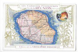 LES COLONIES FRANCAISES - Ile De La REUNION - Chocolaterie D'Aiguebelle -   -  L 1 - Fiches Illustrées