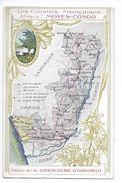 LES COLONIES FRANCAISES - Afrique : MOYEN-CONGO - Chocolaterie D'Aiguebelle -   -  L 1 - Picture Cards