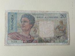 20 Francs 1926 Noumea - Indocina