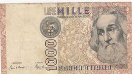 1 000 Lire Italie 1982 - [ 2] 1946-… : Républic