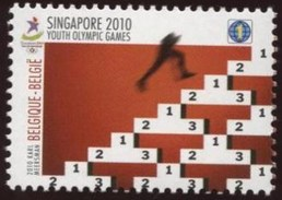België 2010 Singapore Youth Olympics 4045 ** - Belgique
