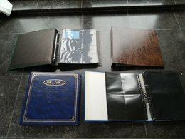 Lege Insteek Albums Voor Postkaarten Met 20 Tal Plastiek Insteekbladen 5€ Per Album - Livres, BD, Revues